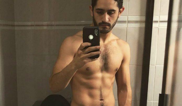 Con escenas de cama, Diego Herrera seduce en video